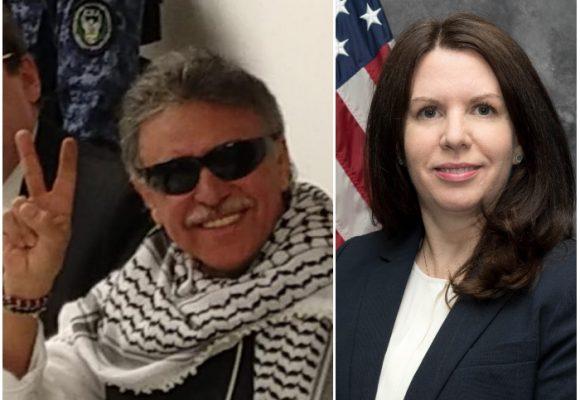 La nueva directora de la DEA en Colombia que no llegó con las pruebas contra Santrich