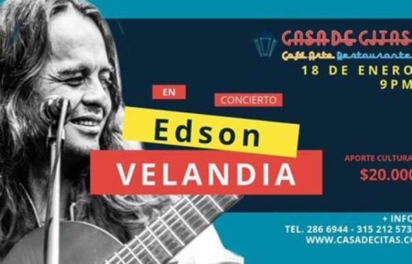 El gran Edson Velandia en Casa de Citas