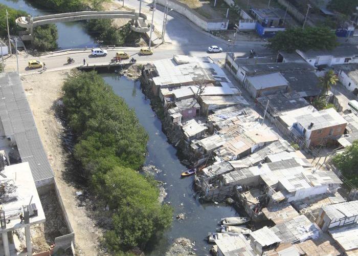 Juan Angola, el caño que nos roban en Cartagena