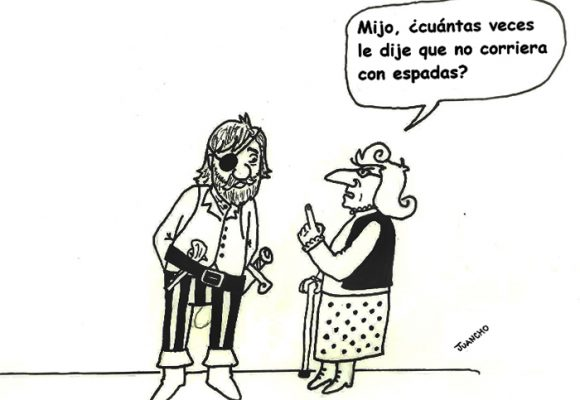 Caricatura: Consejos de madre