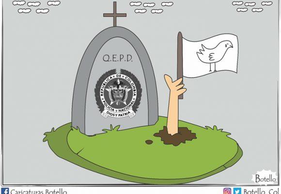Caricatura: Luto nacional