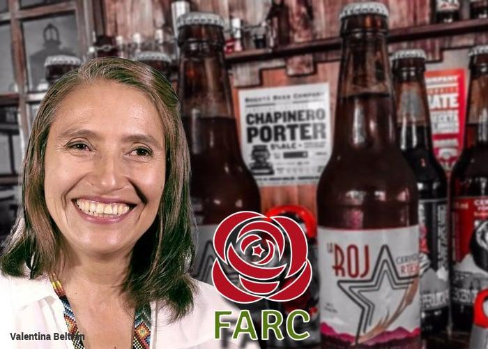 La Roja, una cerveza con sabor a paz