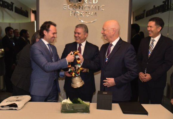 Premio mayor para Medellín en el Foro Mundial de Davos
