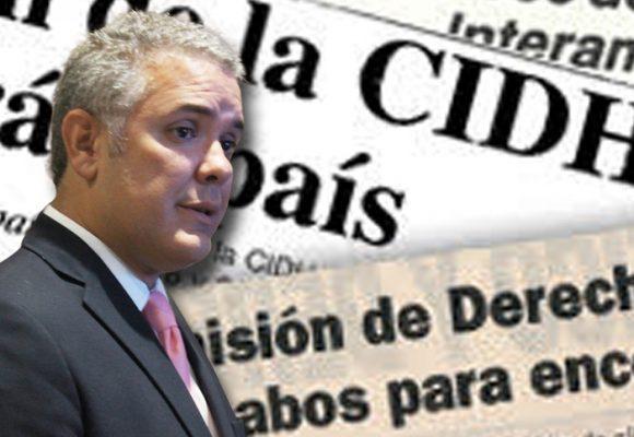 La Comisión Interamericana de Derechos Humanos le pone presión a Duque: VIDEO