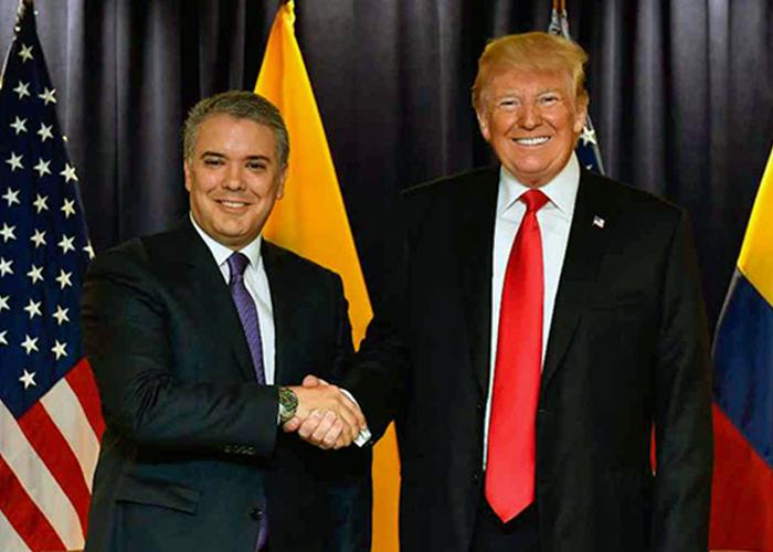 Trump y Duque: los monaguillos