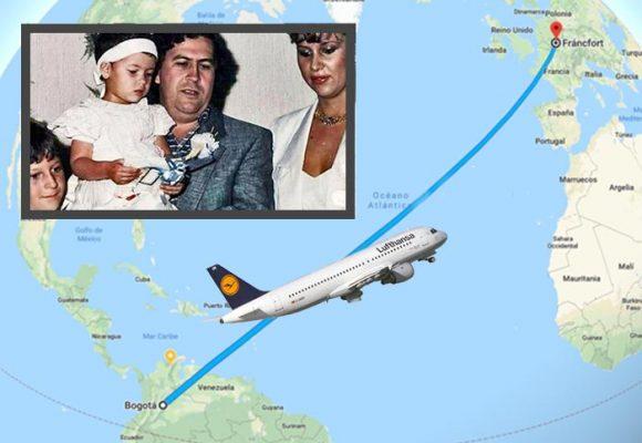 El vuelo a Alemania que provocó la muerte de Pablo Escobar