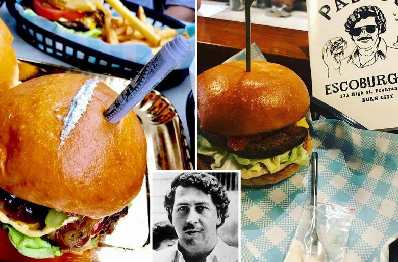 Pablo Escoburguers: la hamburguesa con cocaína