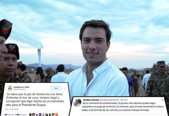 Esteban Santos manda callar a Jerónimo Uribe