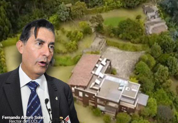 Rector de la ECCI se queda sin su lujosa mansión