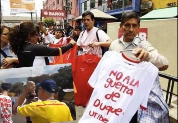 Cómprela o lo pelan: se vende como arroz la camiseta de Alan