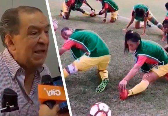 """Gabriel Camargo se retracta: """"El fútbol femenino, un caldo de cultivo de lesbianismo"""""""