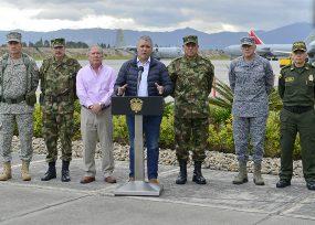 Duque y la cúpula militar rumbo a Arauca, donde opera Pablito