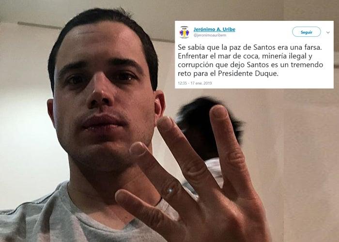 La mezquindad de Jerónimo Uribe
