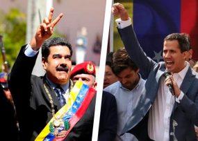 Juan Guaidó vs Nicolás Maduro: los países hacen sus apuestas
