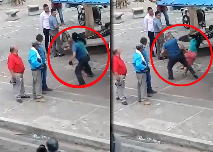 Brutal ataque de un taxista a una mujer en Caquetá