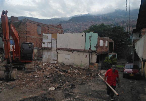 El progresó atropelló a la comunidad de La Paralela en Medellín