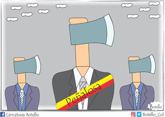 Caricatura: Era Peñalosa