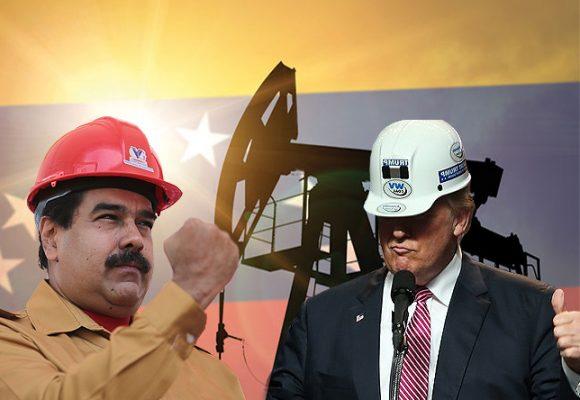 Trump presiona con una mano y recibe el petróleo de Maduro con la otra