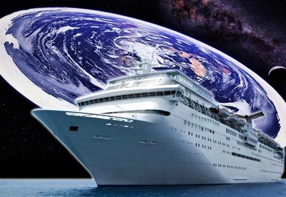 El crucero de los que creen que la tierra es plana