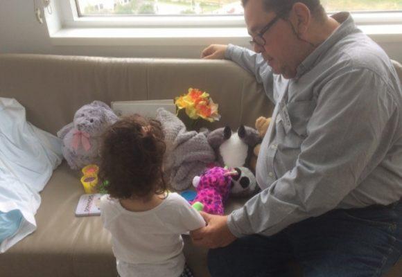 Lo que me enseñó mi nieta en su enfermedad