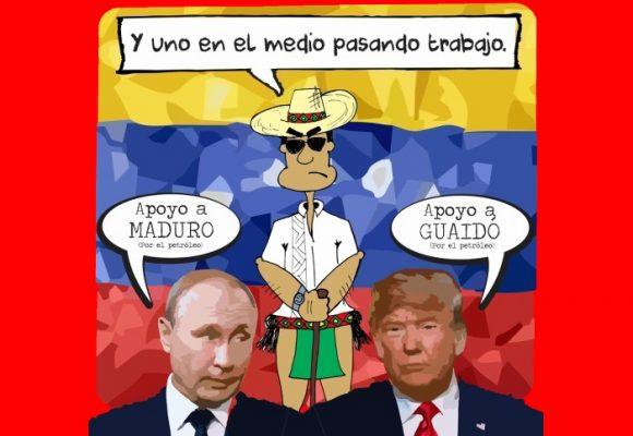 Caricatura: Ni Trump ni Putin