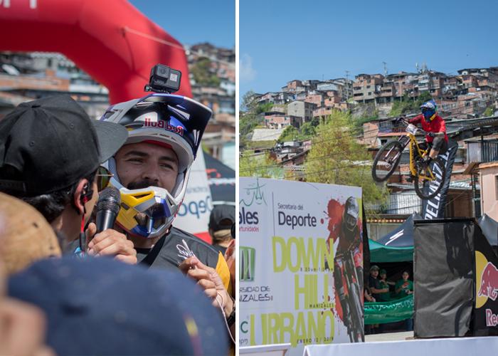 Colombia no es solo fútbol, también es downhill