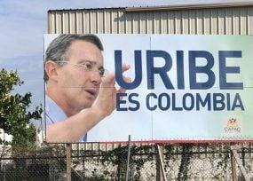 La impactante valla de Uribe en Miami