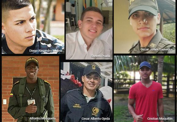 Los muchachos que cayeron por la bomba del ELN
