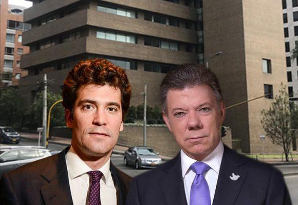 Santos encuentra cobija en el edificio de los Santo Domingo