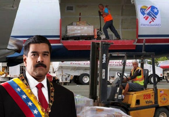 Avión puertorriqueño con ayuda se le coló a Maduro