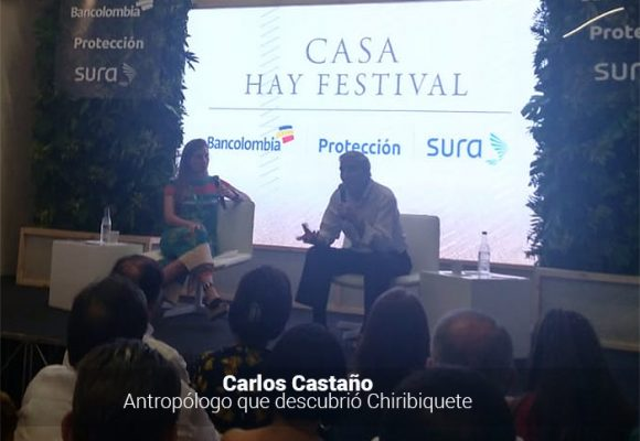 El antropológo Carlos Castaño, en conversación con su hija María José, explica el impacto de Chiribiquete