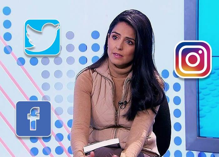 Claudia Palacios, crítica con el periodismo de chisme, redes y raiting