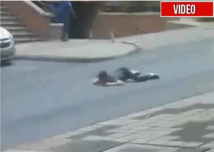 [VIDEO] El lugar donde le dieron el balazo a Legarda