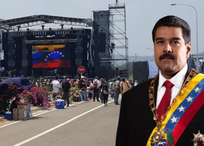 El contraconcierto de Maduro, un fracaso de tres días