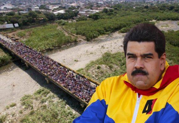 Contra concierto de Maduro en la frontera