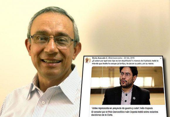 El odio uribista del próximo director del Centro de Memoria contra Iván Cepeda