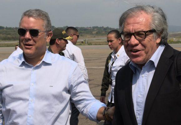 Duque y Almagro ya están en Cúcuta