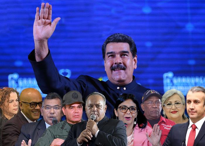 La guardia petroriana de Maduro