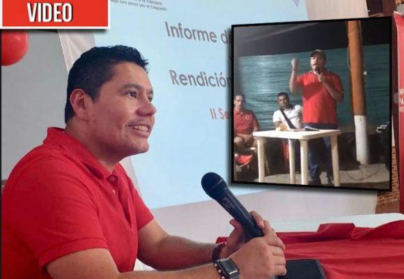 [VIDEO] A látigo congresista Harry González quiere imponer su candidato en Caquetá