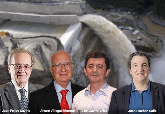 Cuatro reconocidos dirigentes paisas, en la lupa de la Fiscalía por Hidroituango