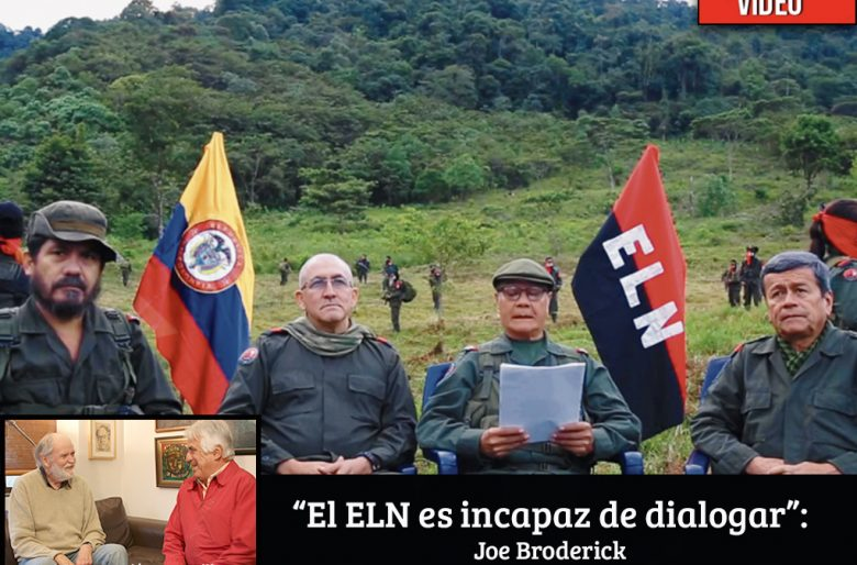 """""""No vale la pena el diálogo con el ELN, ellos no saben dialogar"""""""