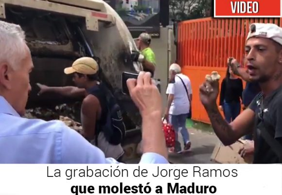 Jorge Ramos, sacado a las patadas de Venezuela