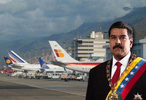 Venezuela se va quedando sin rutas aéreas
