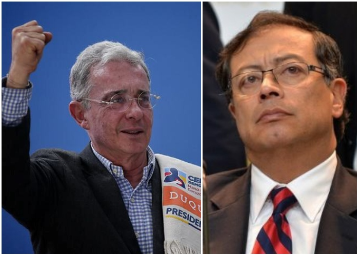"VIDEO: Hasta Petro le dice ""presidente"" a Álvaro Uribe"