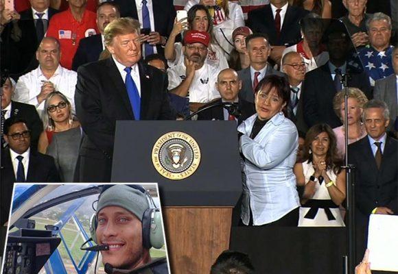 Homenaje de Trump a Oscar Pérez, el militar que murió enfrentando a Maduro