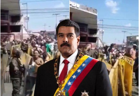 VIDEO: Maduro, decidido a bloquear la ayuda humanitaria