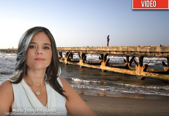 VIDEO. El muelle de Puerto Colombia naufraga
