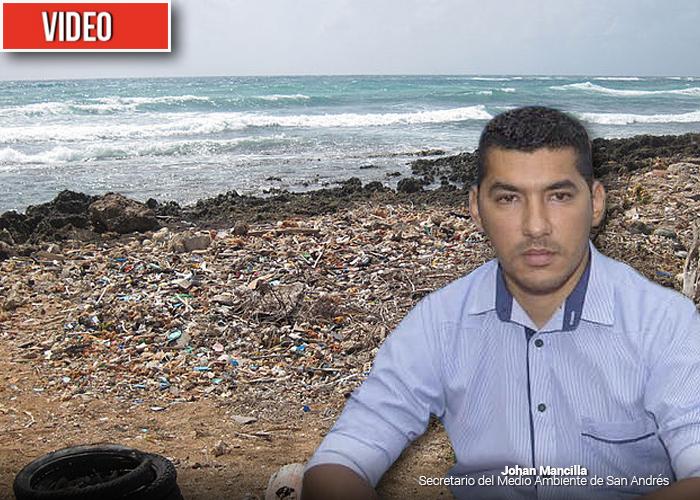 VIDEO: San Andrés en riesgo de convertirse en la isla de la basura