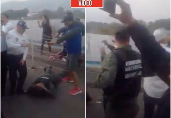 VIDEO: Desesperados, soldados venezolanos desertan en la frontera