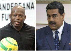 Desplante del Tino a Maduro